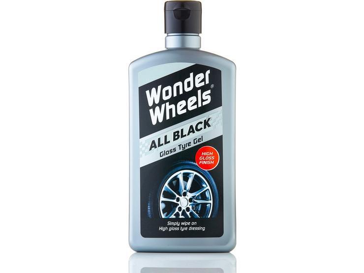 Wonder Wheels Black Gloss Tyre Gel 500ml