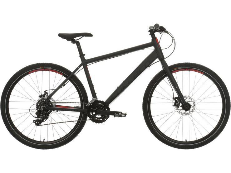 Carrera Subway 1 Mens Hybrid Bike 2020 - Dark Grey - S, M, L, XL Frames