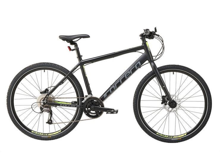 Carrera Subway 2 Mens Hybrid Bike 2020 - Black, Medium