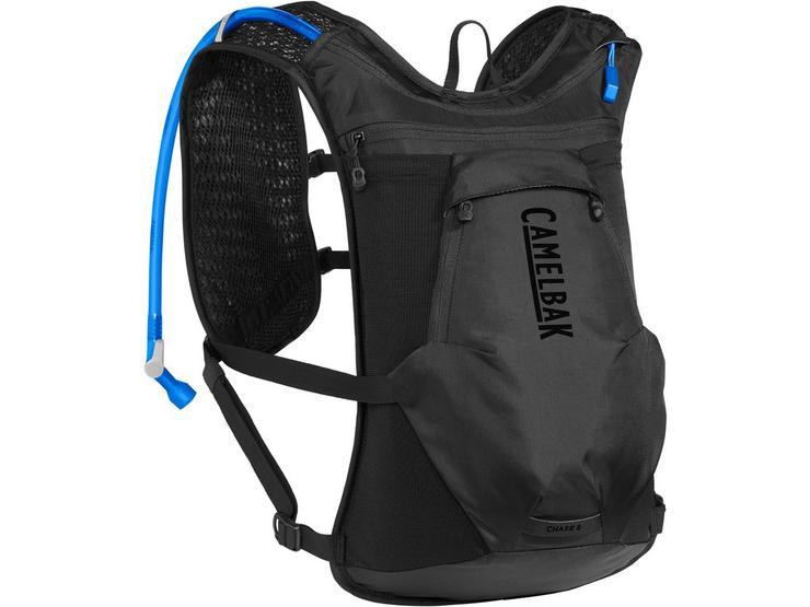 Camelbak Chase 8 Bike Vest Hydration Pack 2020: Black 2L/70Oz