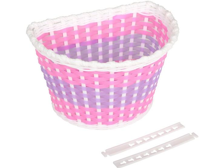 Plastic Woven Bike Basket