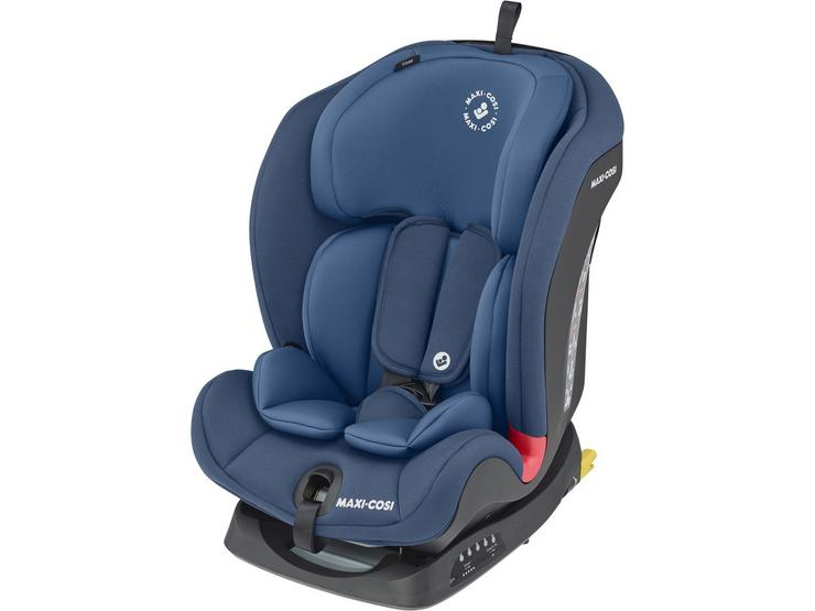 Maxi-Cosi Titan Child Car Seat with built in Isofix Base - Basic Blue