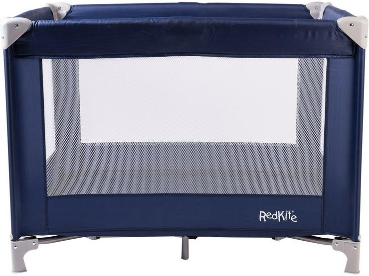 Red Kite Sleeptight Travel Cot - Blueberry