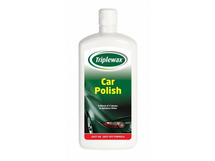 CarPlan Triplewax Car Polish 500ml