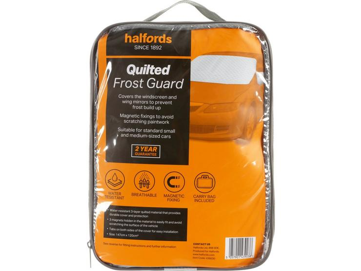 Halfords Quilted Frost Guard