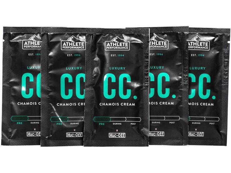 Muc-Off Luxury Chamois Cream - 10ml (Pack of 5)
