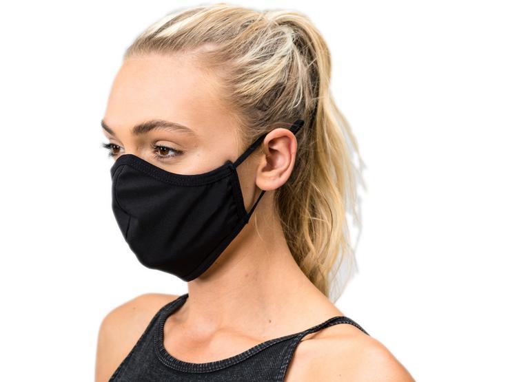 Scimitar Face Mask Black