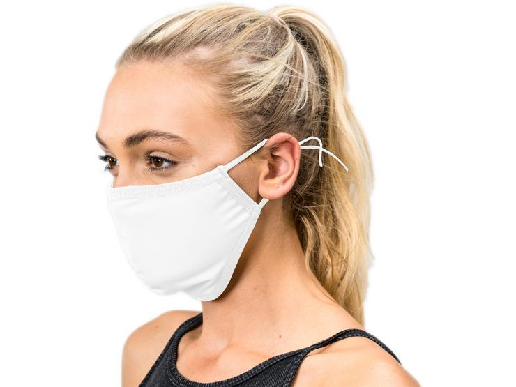 Scimitar Face Mask White