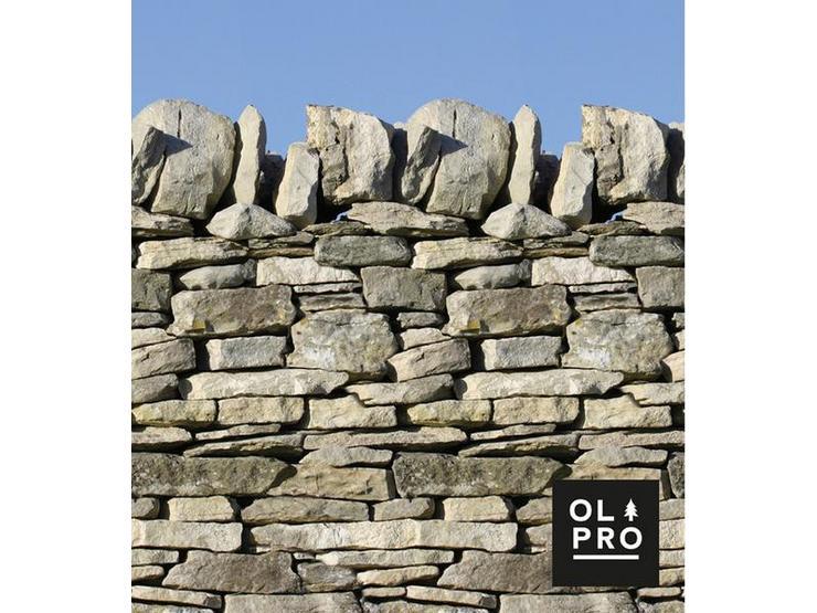 Stone Wall 5 Pole Windbreak