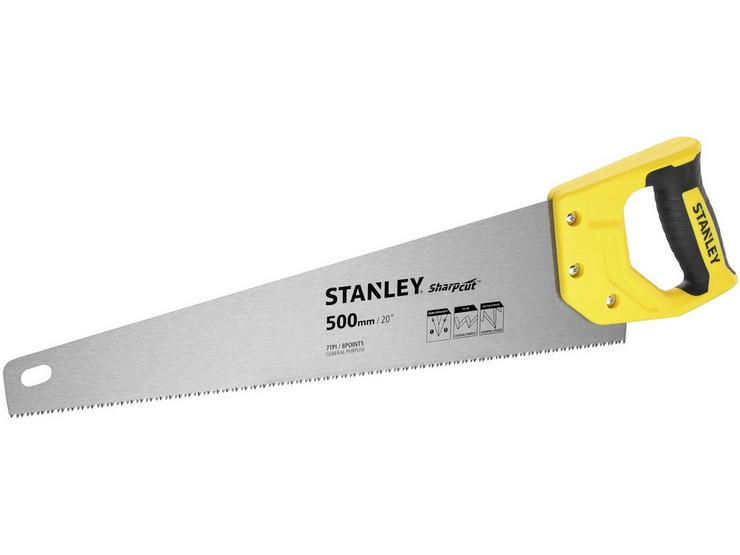 "Stanley Gen 2 Sharpcut 20""/500mm 7TPI Saw"