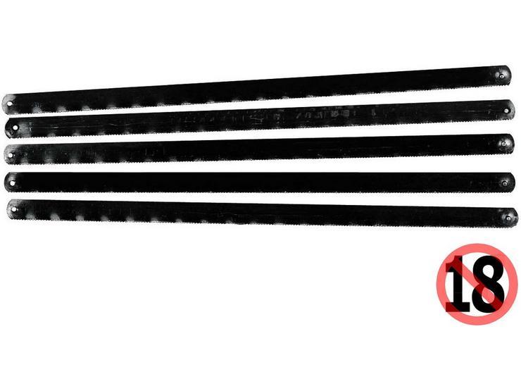 Stanley Junior Hacksaw Blades 150mm 5pk