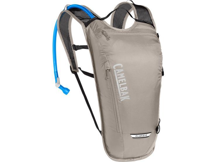 Camelbak Classic Light Hydration Pack: 3L + 2 Litre/70oz - Aluminum
