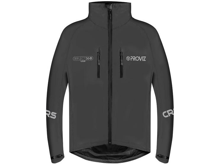 Proviz Reflect 360 CRS Cycling Jacket, Black, S