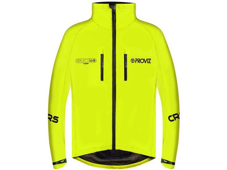 Proviz Reflect 360 CRS Cycling Jacket, Yellow, S