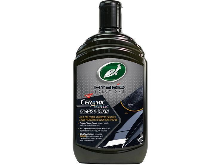 Turtle Wax Hybrid Solutions Ceramic Acrylic Black Polish – 500ml