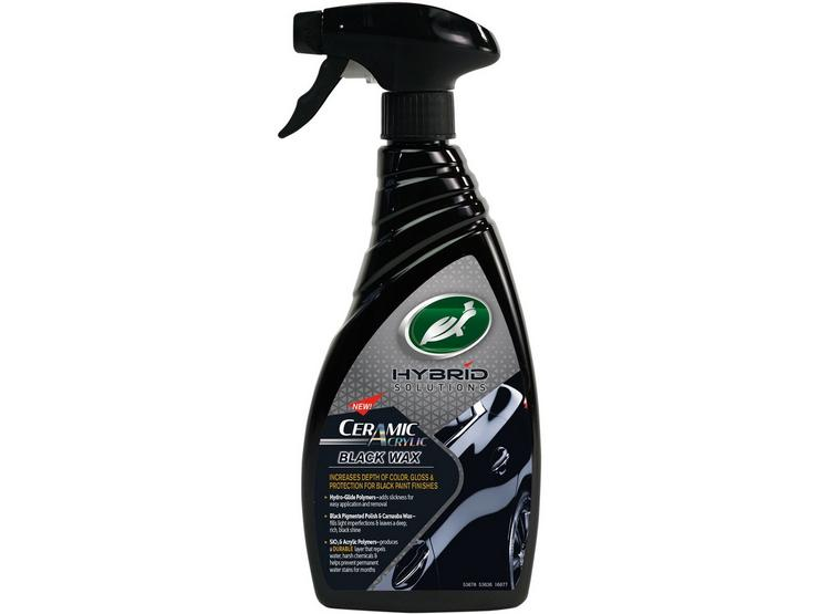 Turtle Wax Hybrid Solutions Ceramic Acrylic Black Spray Wax – 500ml