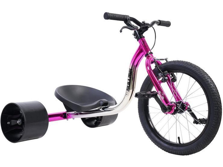 Sullivan Big Wheel Slider Trike - Silver/Pink