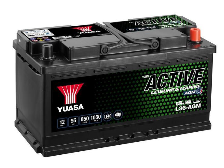 Yuasa Active Leisure Battery L36-AGM