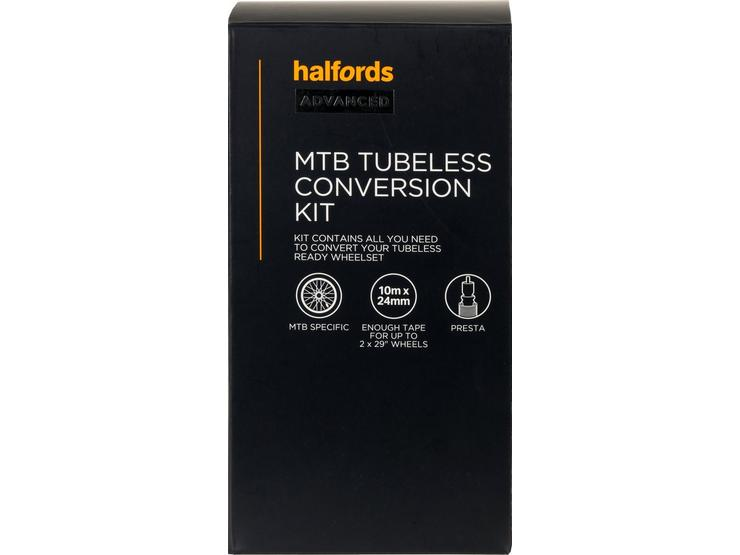Halfords Advanced Tubeless Conversion Kit