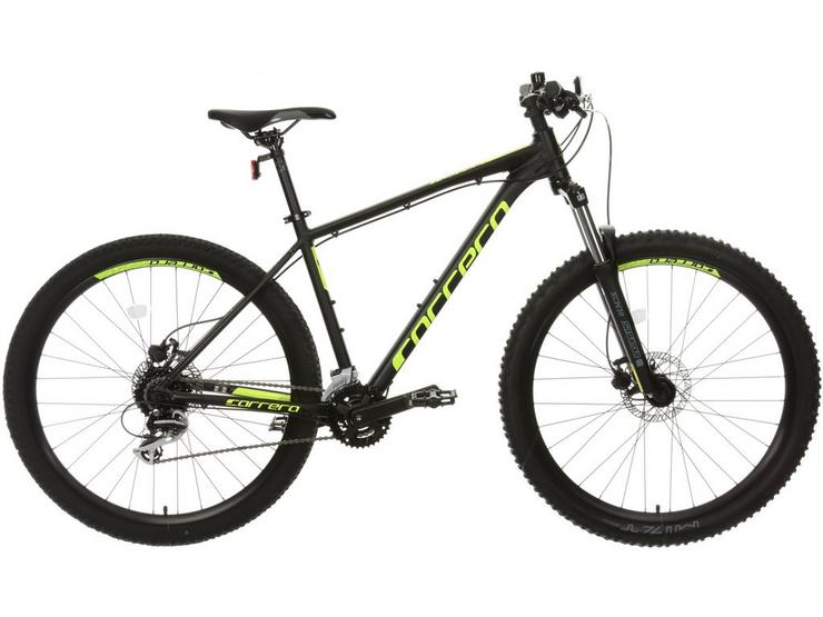 Carrera Furnace 1 Mountain Bike - Black/Yellow, M