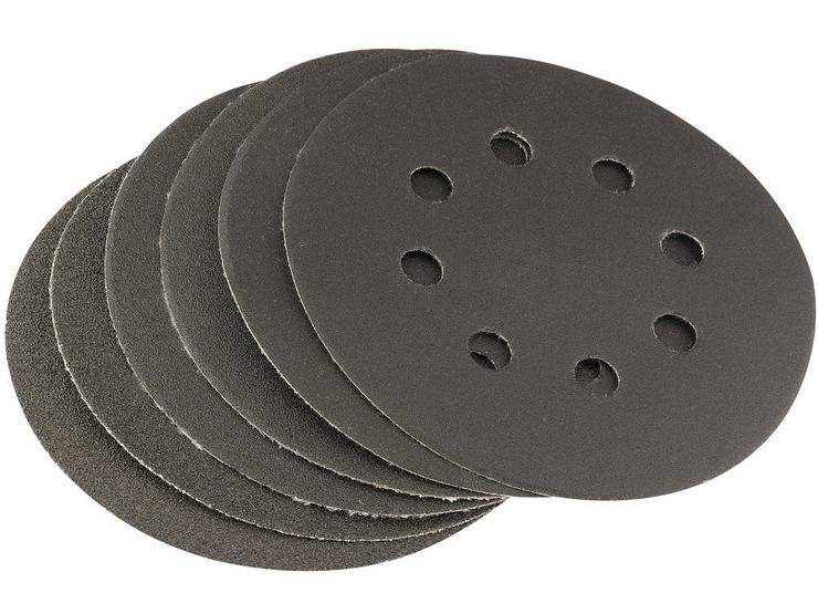Draper 6 Piece Hook and Loop 125mm Sanding Discs