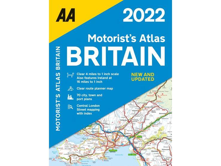 Motorists Atlas Britain 2022