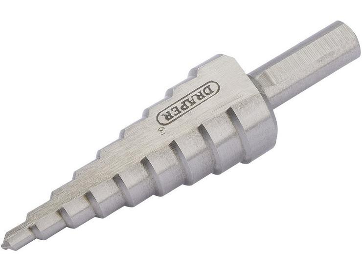 Draper 4 - 20mm Step Drill Bit