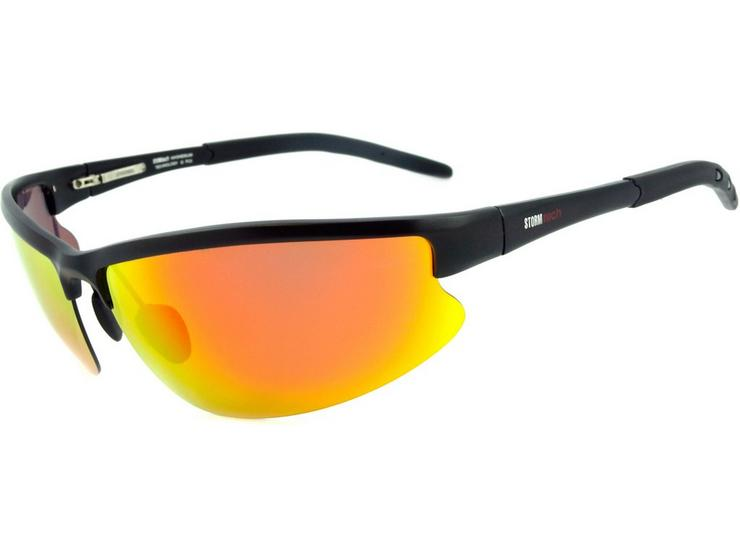 StormTech Atrax Orange Sunglasses - Black
