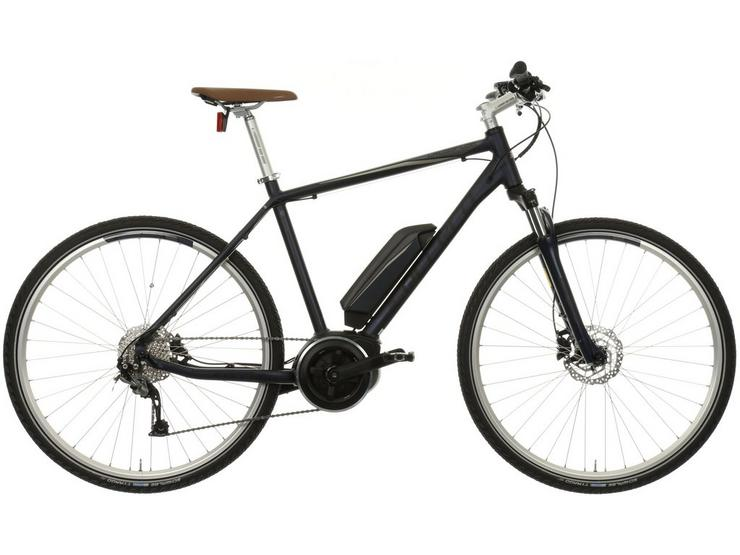 "Carrera Crossfuse Mens Electric Hybrid Bike - 17"", 19"", 21"" Frames"