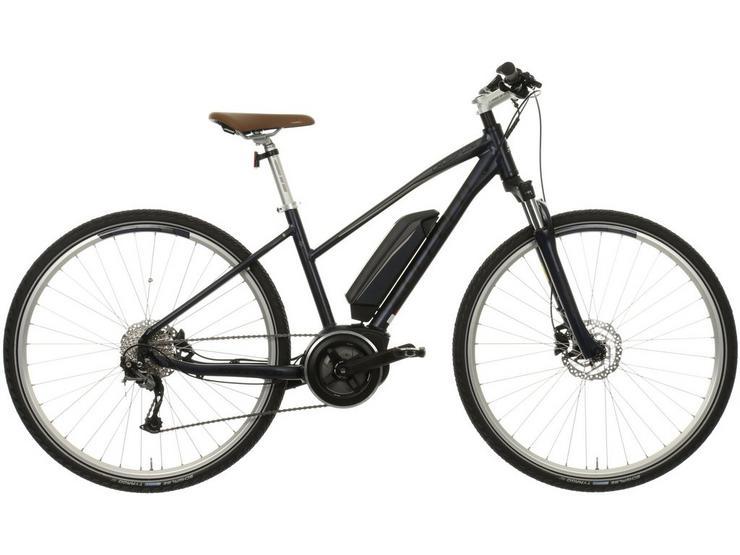 "Carrera Crossfuse Womens Electric Hybrid Bike - 17"""
