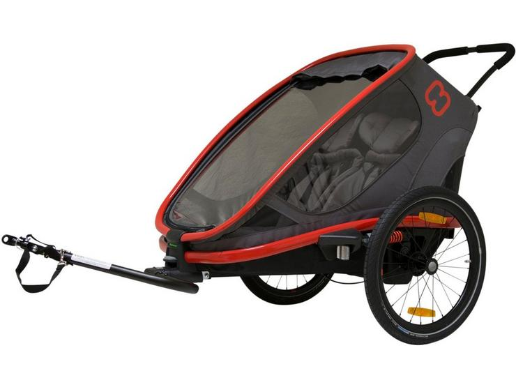 Hamax Outback Child Bike Trailer Red