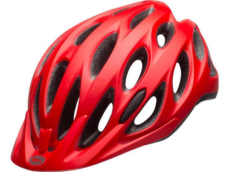 Bell Tracker Helmet, Matt Red, 54-61cm