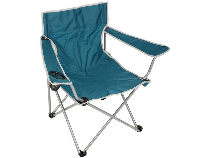 Halfords Camping Arm Chair - Green 508058