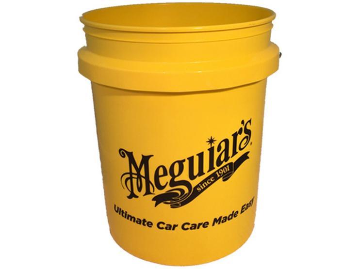 Meguiars RG203 5 Gallon Yellow Bucket