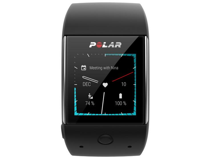 Polar M600 - Smart Watch with Heart Rate Monitor - Black