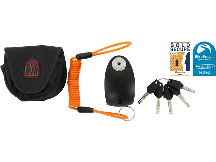 MagnumPlus Titan Alarm Disc Lock 10mm Pin S/Steel