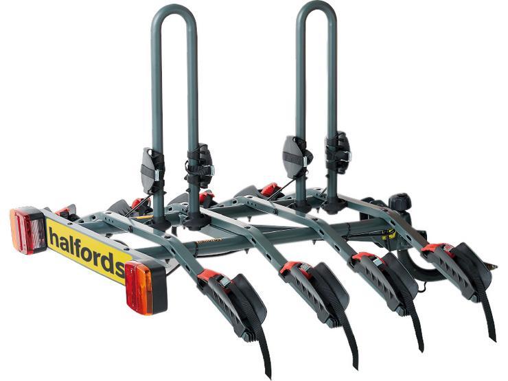 Halfords 4-Bike Towbar Mounted Bike Rack 548658