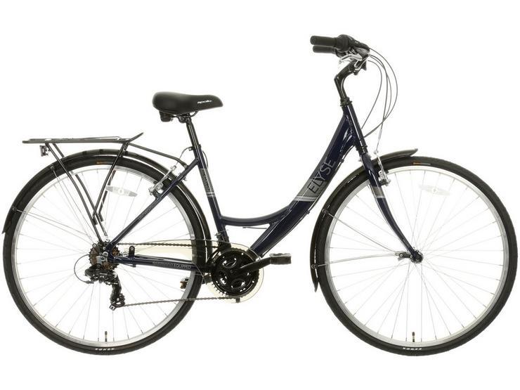 "Apollo Elyse Womens Hybrid Bike - Navy - 16"", 18"" Frames"