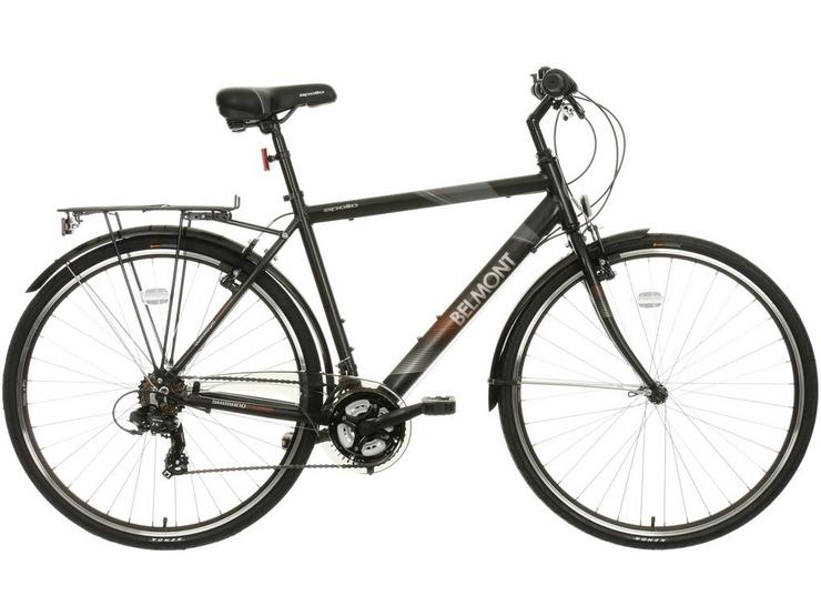 "Apollo Belmont Mens Hybrid Bike - 18"", 21"" Frames"