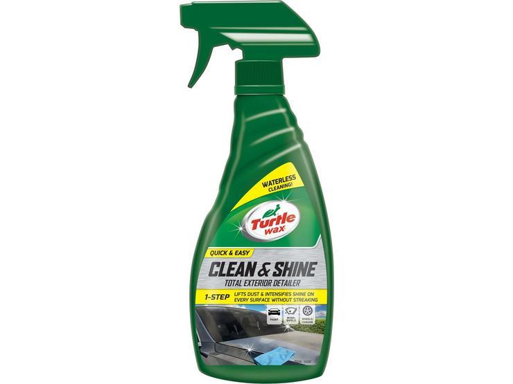 Turtle Wax Clean & Shine Exterior Detailer 500ML