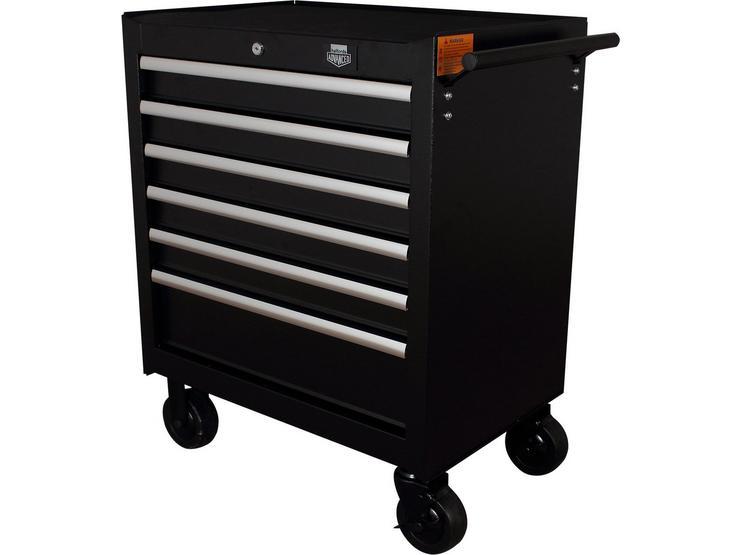 Halfords Advanced 6 Drawer Tool Cabinet - Black