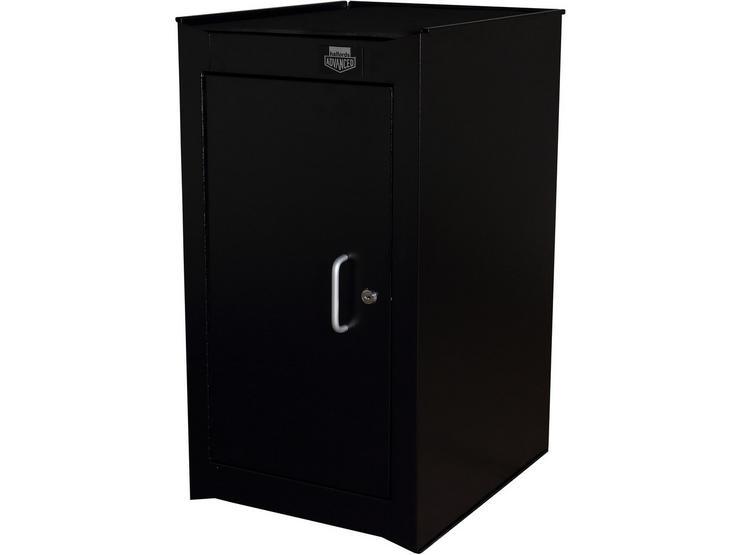 Halfords Advanced 2 Shelf Side Cabinet - Black