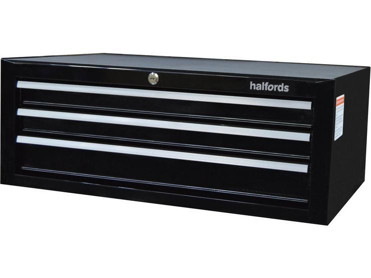 Halfords 3 Drawer Middle Chest - Black