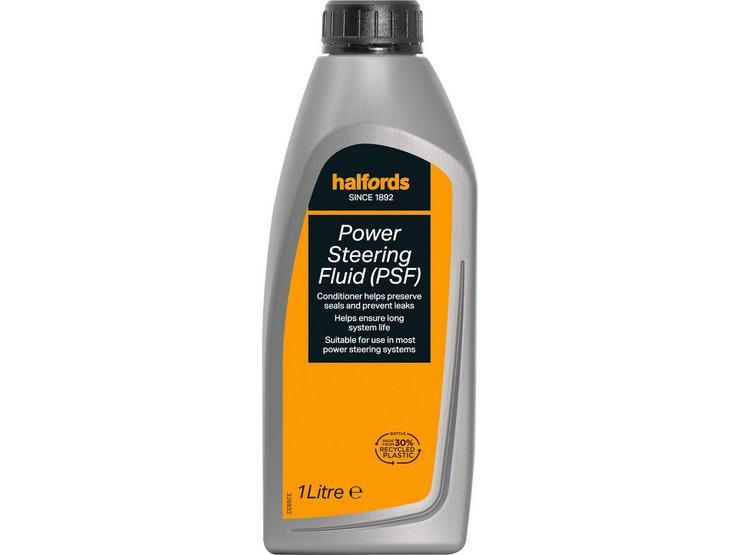 Halfords Power Steering Fluid (PSF) 1L