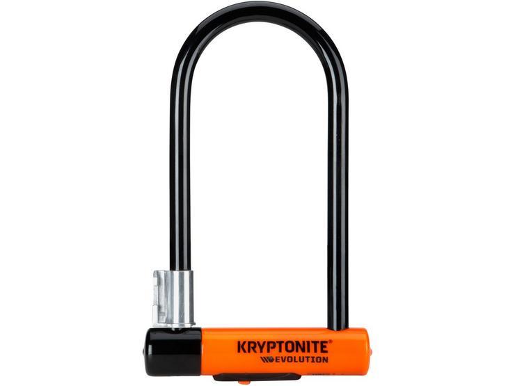 Kryptonite Evolution Standard  D-Lock With Flexframe Bracket