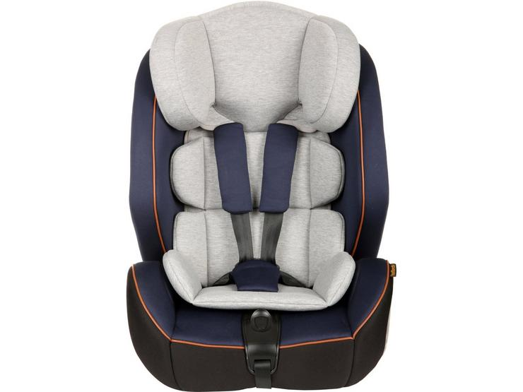 Halfords Group 1/2/3 Isofix Child Car Seat with Top Tether