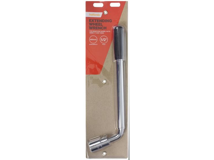 Halfords Extending Wheel Nut Wrench