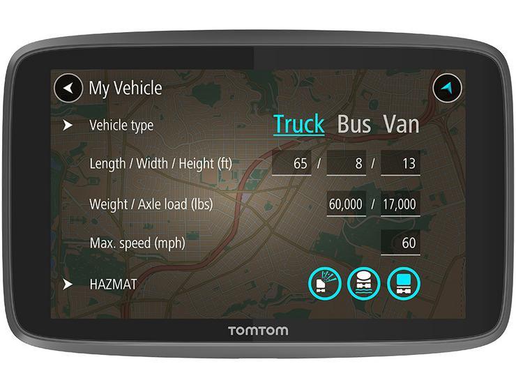 TomTom Go Professional 620 HGV Sat Nav