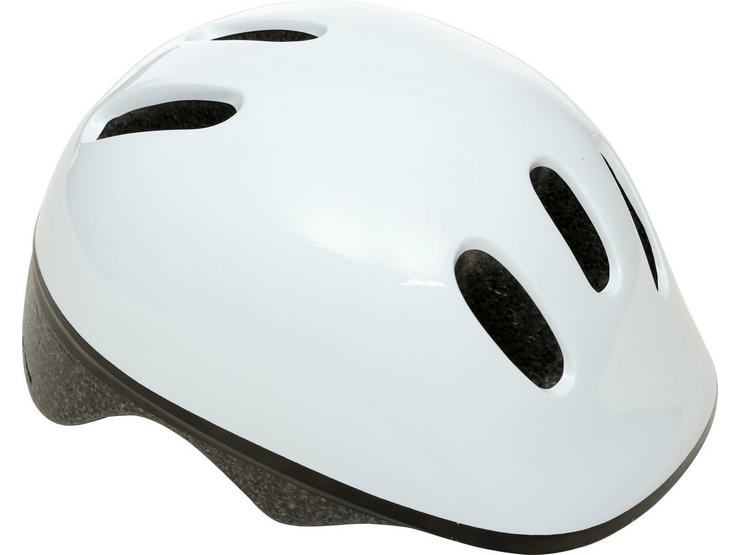 Toddler White Bike Helmet (48-52cm)