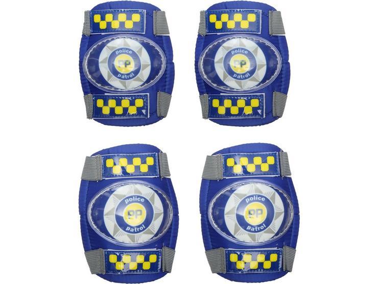 Apollo Police Patrol Kids Bike Pads - 3-6 years